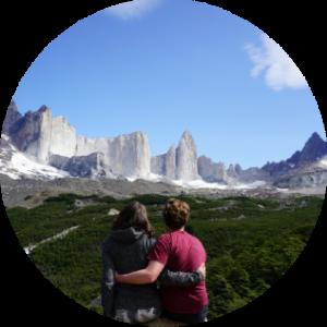 Chili nationaal park - koppel